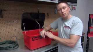 Redline 3 5 Gallon Benchtop Parts Washer Youtube