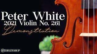 Peter White 2021 Violin No. 261