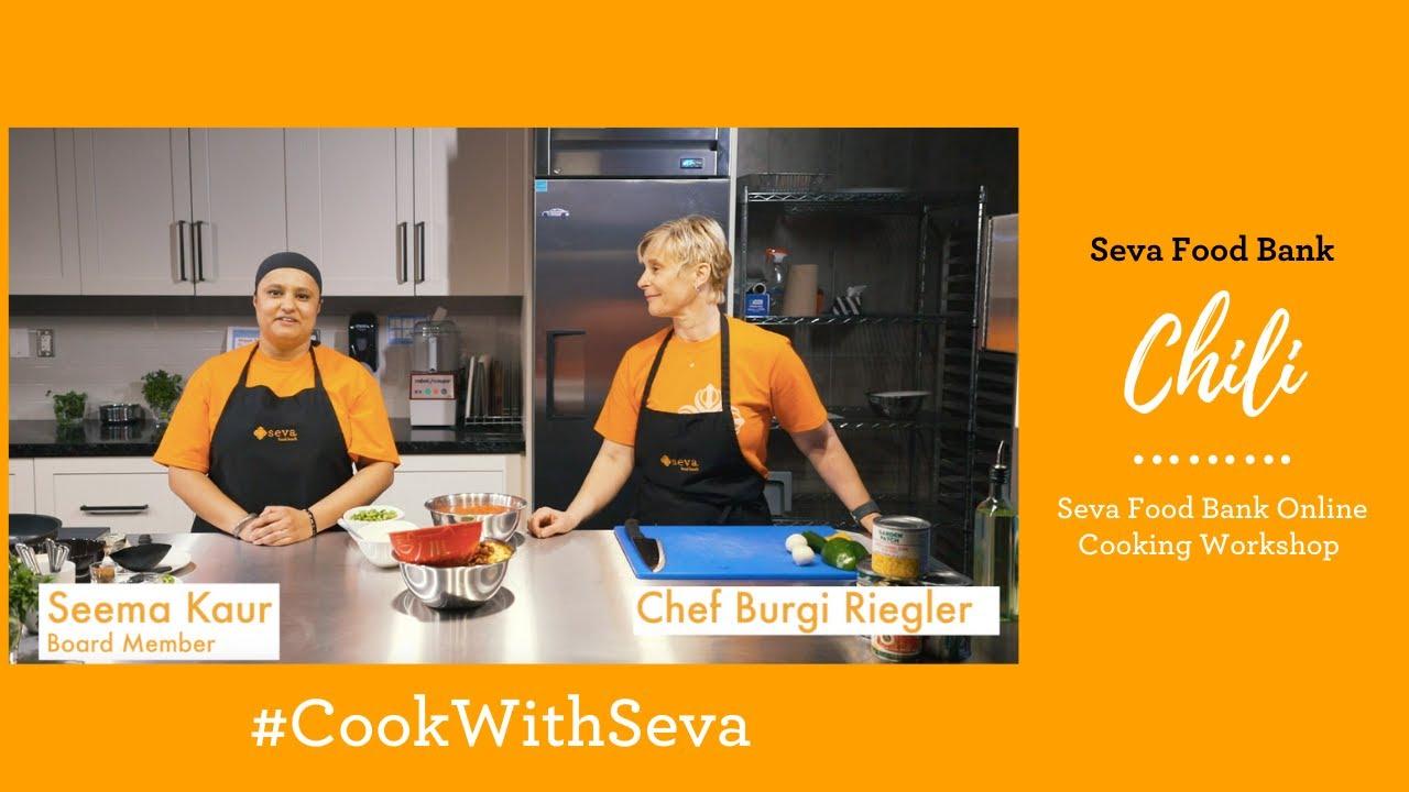Seva Food Bank Online Cooking Workshop: Chili
