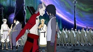Саске попадает на планету ооцуцуки и видит нечто ужасное в аниме Боруто