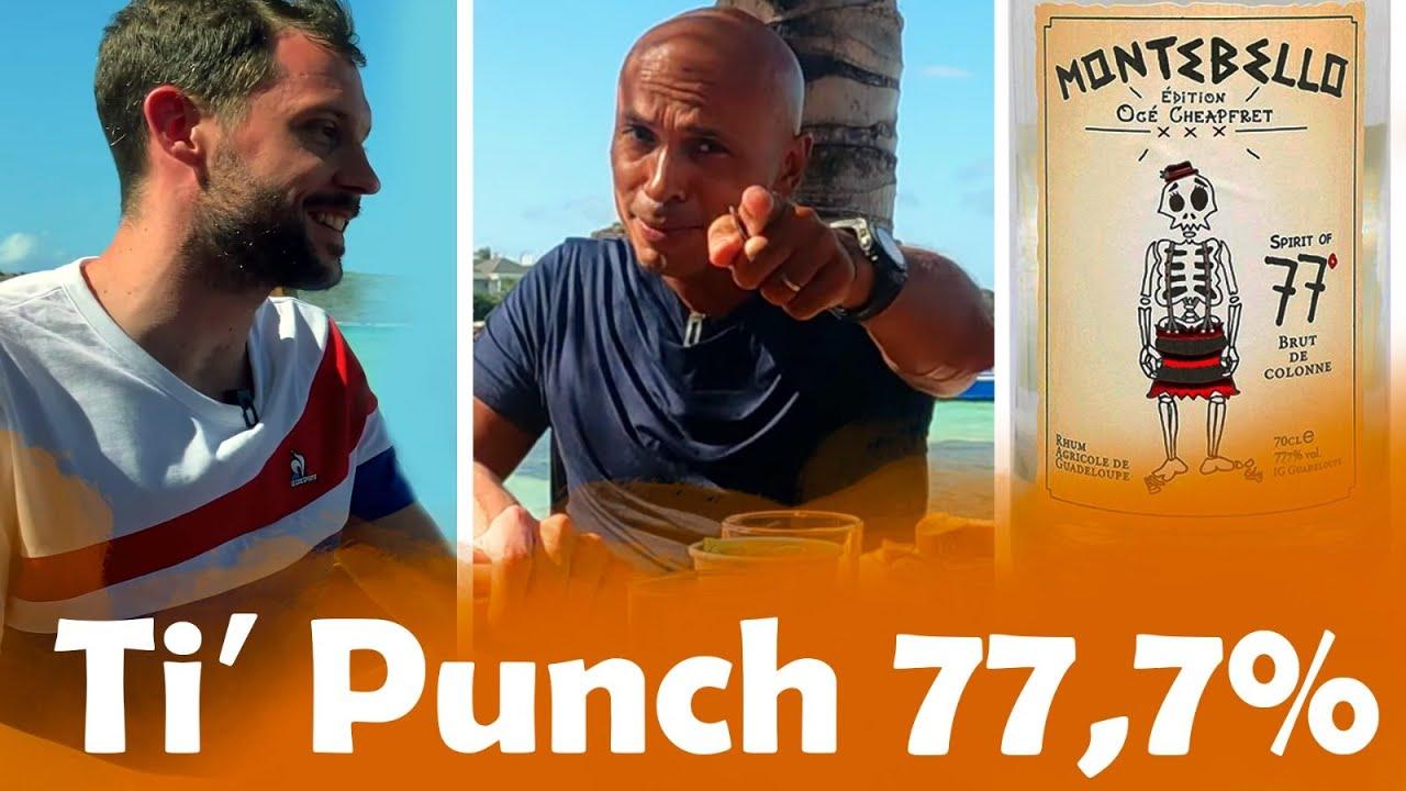 Ti'Punch à 21° VS 77,7° avec ERIC JUDOR aux Antilles !