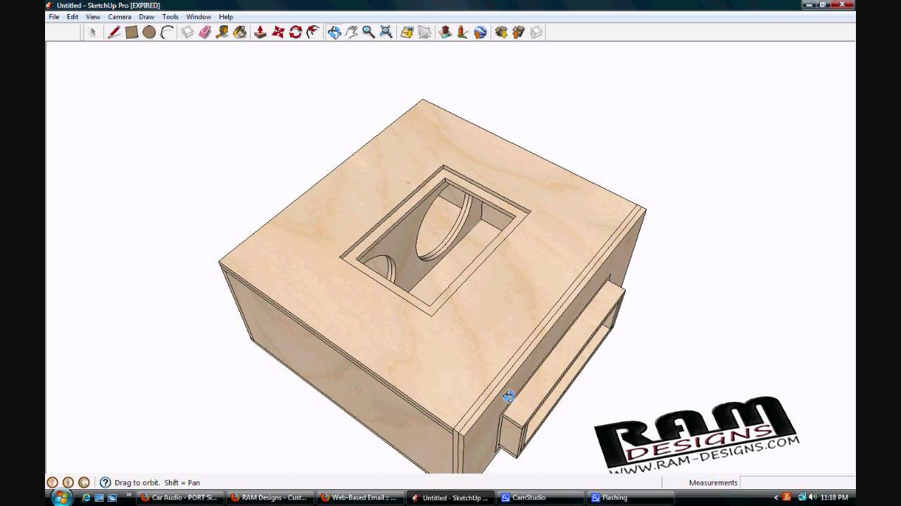 RAM Designs: Orion HCCA Bandpass Blow-Through Box Design - YouTube