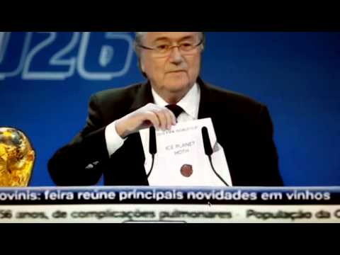 FIFA Blatter resigns / World Cup 2026