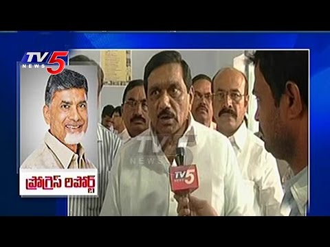 AP Dy CM KE Krishna Murthy Innerviews On 2 Years Chandrababu Govt  | TV5 News