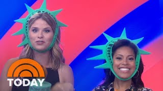 Jenna Bush Hager And Sheinelle Jones Play 'America Says' With John Michael Higgins | TODAY