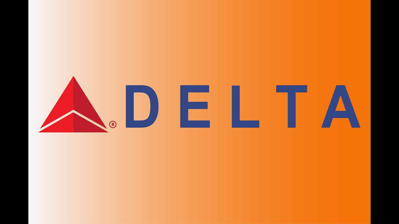 How To Make Delta Airlines Logo with Adobe Illustrator, Create ...