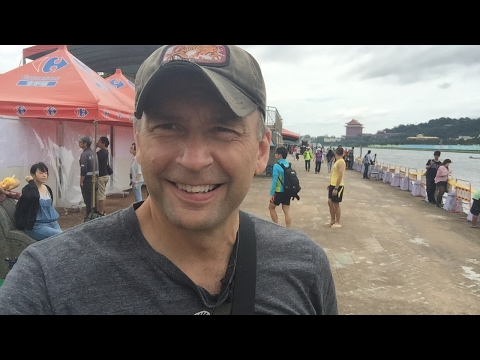 2017 Dragon Boat Festival Taipei Taiwan In The Crowds And Party Atmosphere