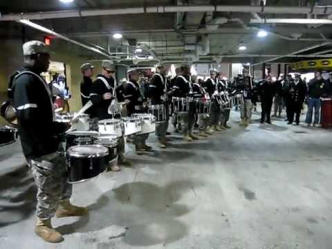 Army v. Navy Drumline DRUM-OFF!
