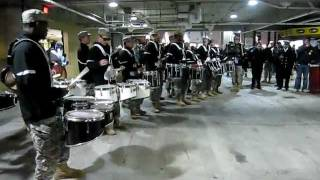 Army v. Navy Drumline DRUM-OFF!