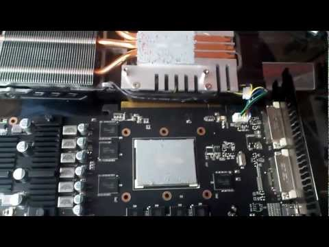 How to remove the heatsink off a graphics card