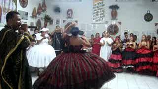 Saída de Maria Quitéria na festa do povo da rua em 26 08 2012