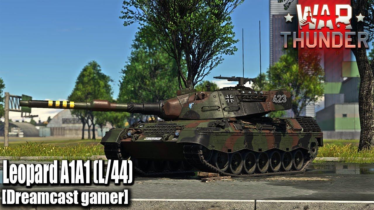 Download [Dreamcast gamer]War Thunder: รีวิว Leopard A1A1(L/44) รถพรีเมี่ยมชั้นยอด