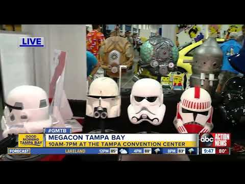 MegaCon Tampa Bay draws celebrities, comic book readers and pop culture enthusiasts,