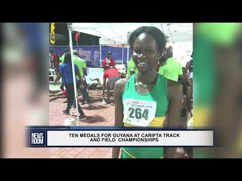 TEN MEDALS FOR GUYANA AT CARIFTA TRACK AND FIELD  CHAMPIONSHIPS