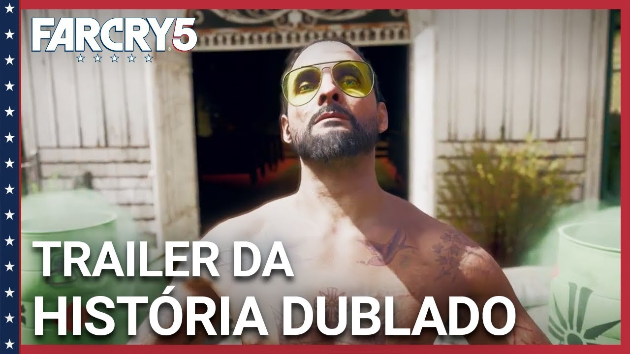 Trailer DUBLADO de história - Far Cry 5