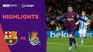 Barcelona 1-0 Real Sociedad | LaLiga 19/20 Match Highlights