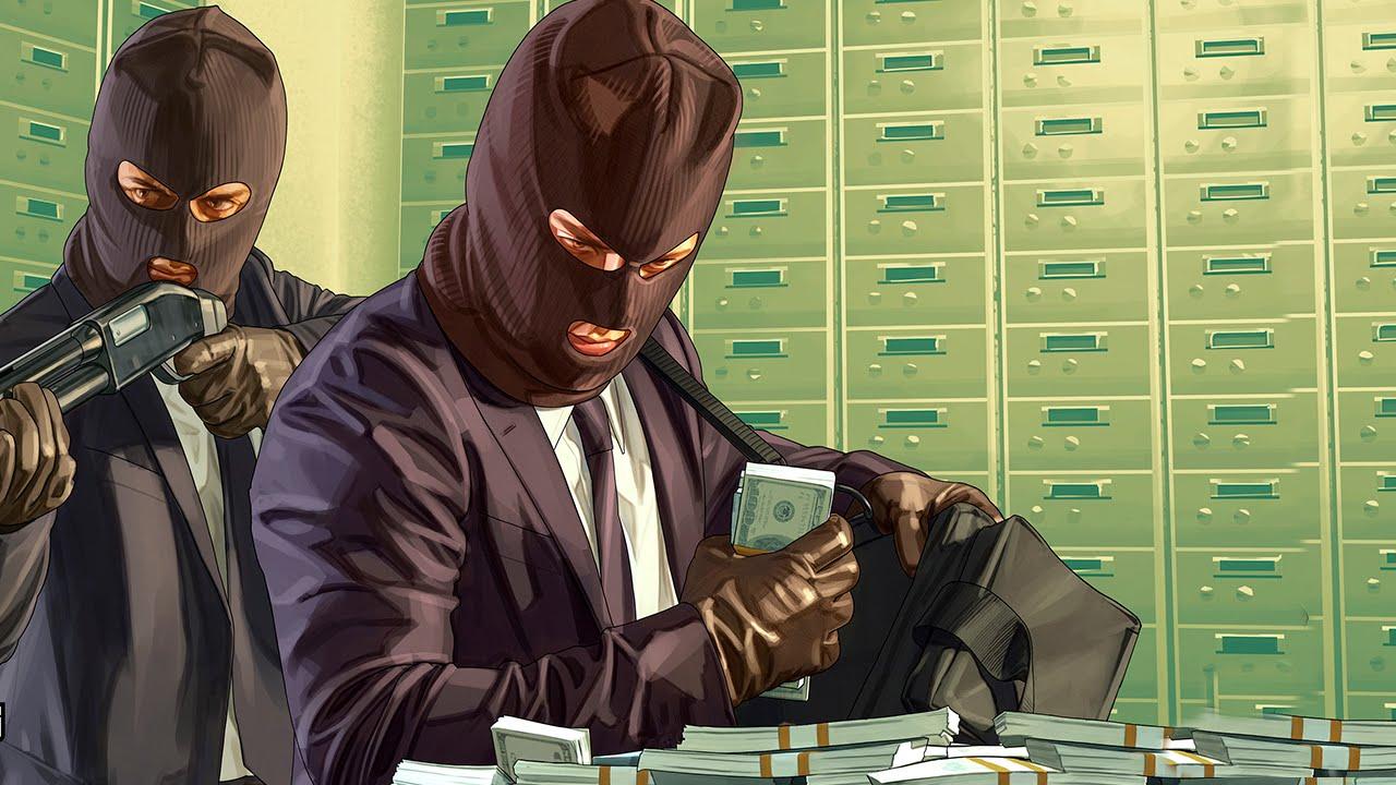 Игры про ограбления банков играть