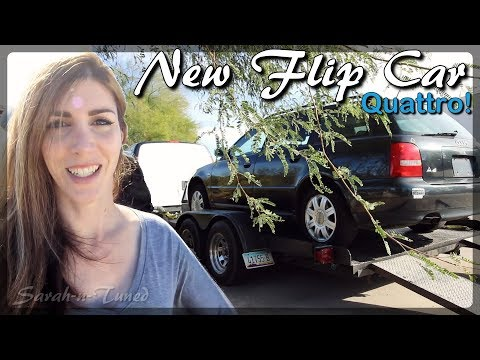 Quick Flip Project Car // Audi Quattro