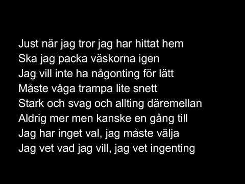 Molly Sandén - Sand Lyrics
