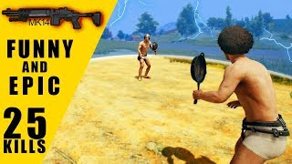 Playing with Randoms funny and Epic 25 Kills - Predator Pubg Mobile
