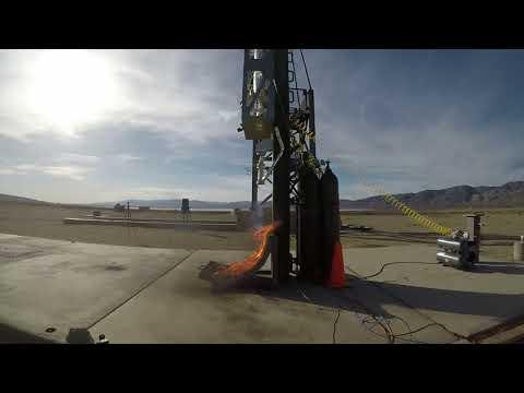SDSU Rocket Project- FAR/Mars Static Hot Fire Side View