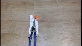 Обзор ножниц по металлу Dexter прямой рез 250 мм