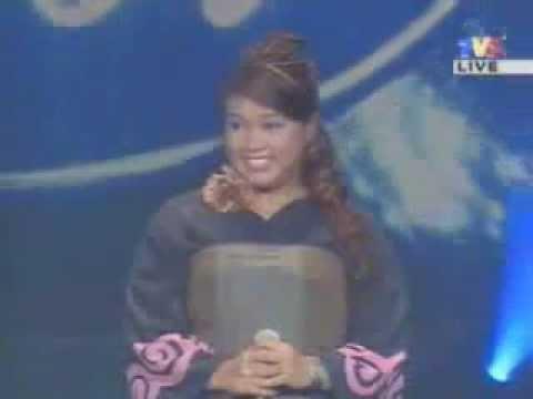Dina - Jelingan Manja (Malaysian Idol Final)