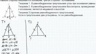 Б23.2 Равнобедренный треугольник