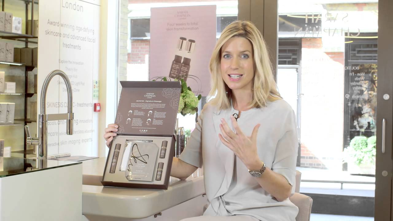 Facial-in-a-Box - Sarah Chapman Skinesis Anti Ageing Gift Box