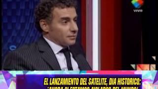 ARGENTINA LANZO - EL SATELITE ARSAT - 16-10-14