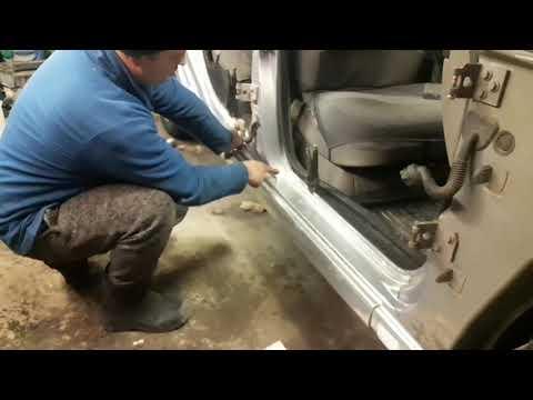 #Кузовной ремонт.Как произвести Замену порогов на #Citroen ксара Пикассо . #Обзор. Своими руками ...