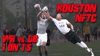 Houston Wr Vs Db 1-on-1's | 2014 Nike Football Training Camp