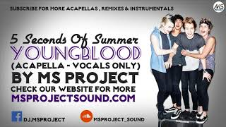 5 Seconds Of Summer - Youngblood (Acapella - Vocals Only)