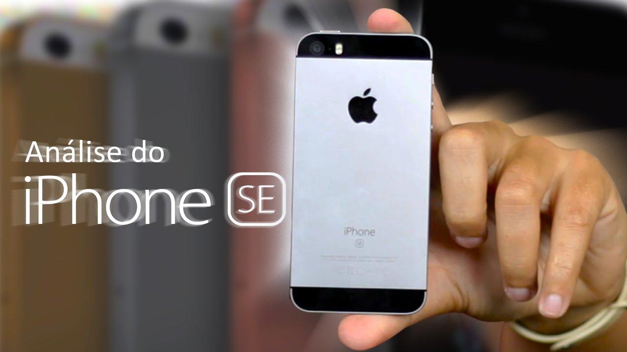 Review (análise) do iphone SE. O pequeno GIGANTE! - YouTube