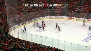 Bruins-Flyers Game 2 2011 Highlights 5/2/2011 1080p HD