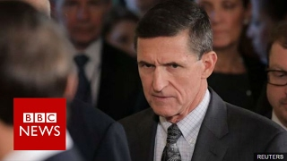 Michael Flynn  Trump's national security adviser resigns   BBC News