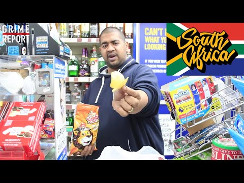 Angry Shopkeeper Tries South African Snacks [Science 4 Da Mandem] Grime Report Tv
