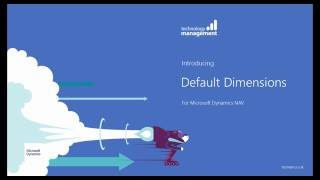 Introducing the Default Dimensions Addition for Microsoft Dynamics NAV