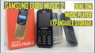 SAMSUNG GURU MUSIC 2 | 2018 | UNBOXING & REVIEW. Best No Camera Phone.