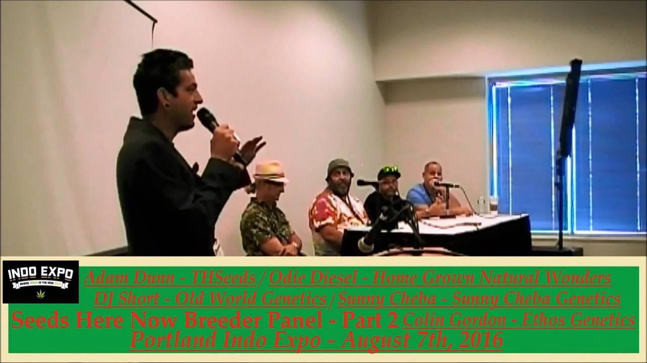 Indo Expo Portland - Cannabis Breeding Panel - part 2