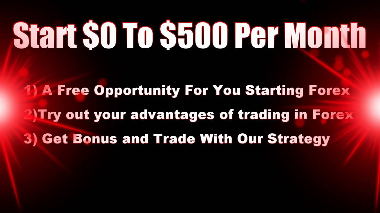 Start forex trading without any investment