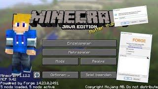 Minecraft MODS installieren mit FORGE - Tutorial (DE) [Alle Versionen]