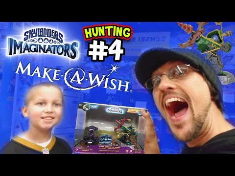MAKE-A-WISH SKYLANDERS IMAGINATORS HUNTING #4 RO-BOW & the L