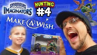 MAKE-A-WISH SKYLANDERS IMAGINATORS HUNTING #4 RO-BOW & the LOST IMAGINITE MINES!