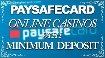 Paysafecard Online Casinos With Minimum Deposit (5 Euro)