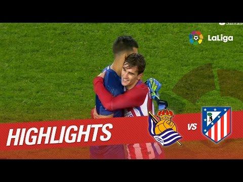 Resumen de Real Sociedad vs Atlético de Madrid (2-0)
