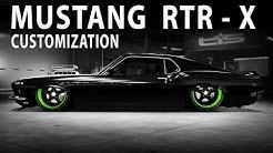 Midnight Club LA - Mustang RTR-X Tutorial (Ford boss 302) ( Customization and Test drive)
