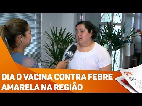 Dia D vacina contra febre amarela na região - TV SOROCABA/SBT