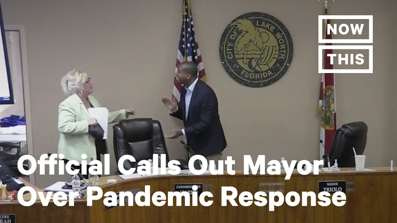 Florida City Official Calls Out Mayor for COVID-19 Response | NowThis