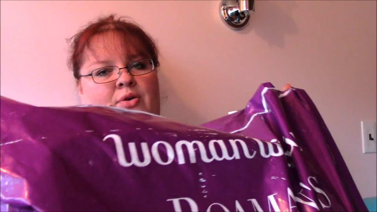 8ac5a78e7719 WOMAN WITHIN PLUS SIZE CLOTHING HAUL - CHEAP PLUS SIZE CLOTHES - YouTube